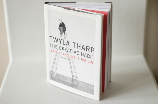 "A picture of TwylaTharp's book, ""The Creative Habit."""