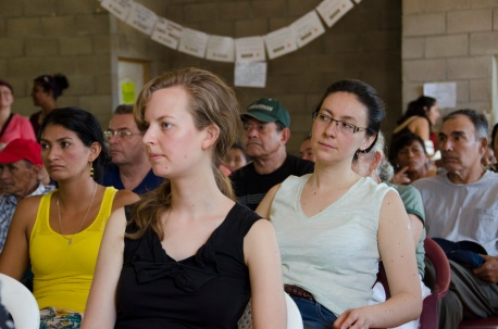 University of Washington Students listen to Tribunal proceedings.