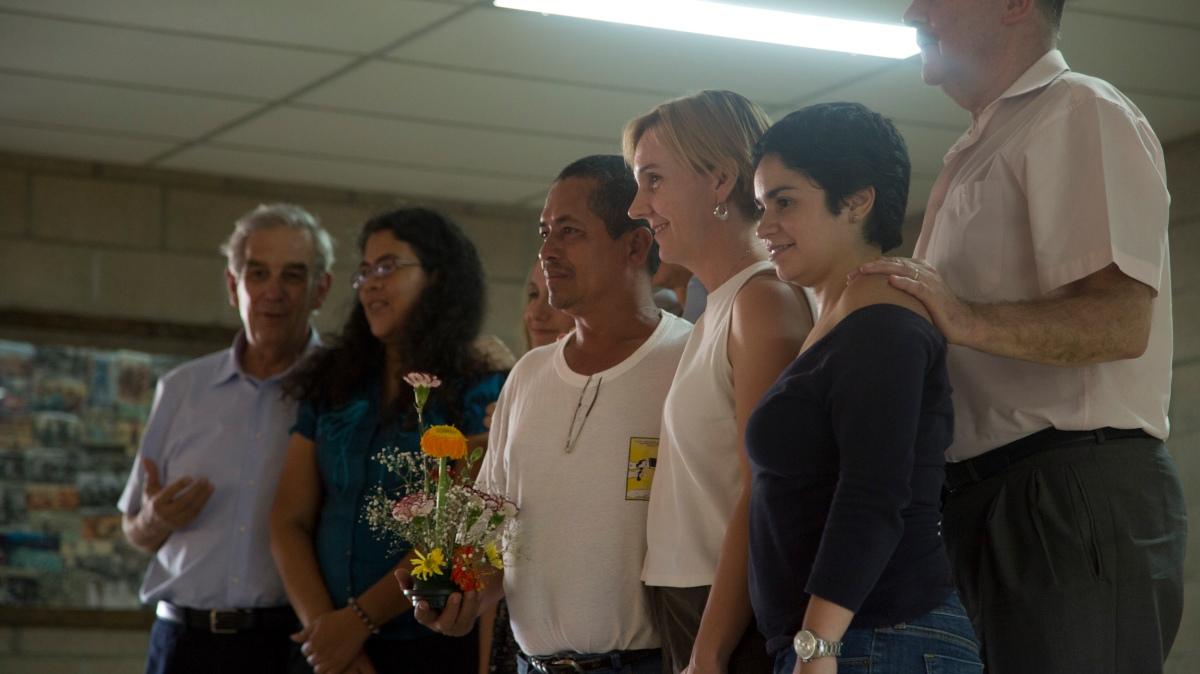 A group photo of Tribunal participants.